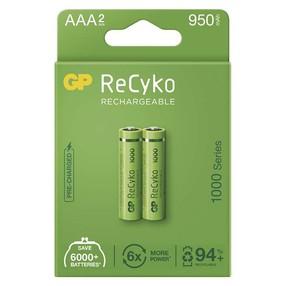 Baterie  AAA R3 1,2V 930mAh NiMh mikrotužková nabíjecí (2ks)