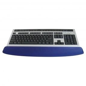Předložka ke klávesnici gelová modrá