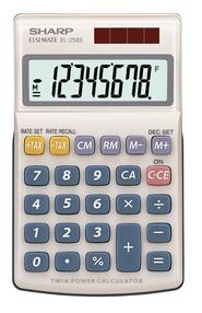 Kalkulačka kapesní Sharp EL-250S