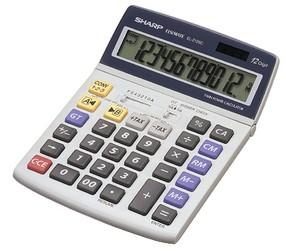 Kalkulačka stolní Sharp EL-2125C