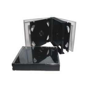 Krabička na 6DVD černá, tloušťka 23mm