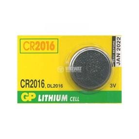 Baterie CR2016, 3V, lithium
