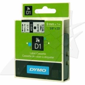 Páska Dymo D1  9mm černá na bílé