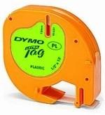 Páska Dymo LetraTag plastová zelená acid