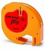 Páska Dymo LetraTag plastová červená kosmická