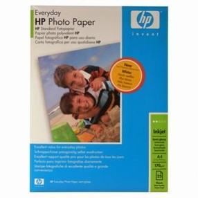 Fotopapír HP Everyday Photo Paper Semi-Glossy 200g/m2, A4, bal. 25ks, Q5451A