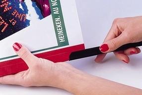RELIDO hřbet 3-6mm (31-60 listů) červený bal.100ks