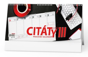 Kalendář stolní CITÁTY III, 2020
