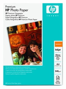 Fotopapír HP Advanced Photo Paper Glossy 250g/m2,  A4 bal.25 listů Q5456A