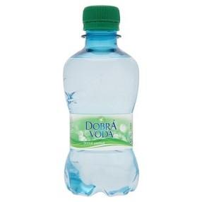 Dobrá voda 0,25 l. jemně perlivá (8ks)