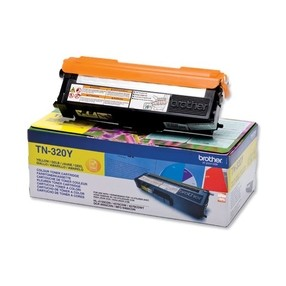 Toner Brother TN-320Y yellow (1500 str.) orig.