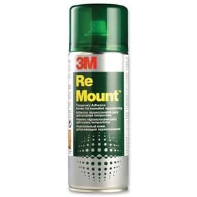 Lepidlo sprejové 3M Re Mount UK9473 snímatelné, 400ml