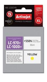 Cartridge Brother LC-1000Y/LC-970Y žlutá (35 ml) ActiveJet AB-1000YN
