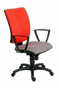 Židle kanc. 1580 SYN GALA SL barva černá B840