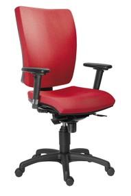 Židle kanc. 1580 SYN GALA SL barva červená B300