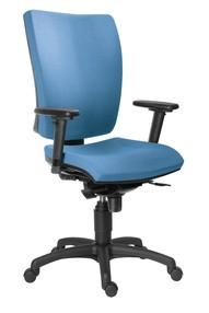 Židle kanc. 1580 SYN GALA SL barva modrá B303