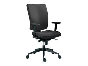 Židle kanc. 1580 SYN GALA SL barva šedá B600