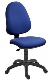 Židle kanc. Panther černomodrá BN3