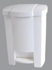 Koš odpadkový s víkem 12 l. nášlapný - KAB402
