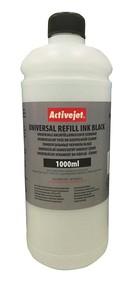 Refill inkoust univerzální 1000 ml. Black ActiveJet URB-1000BK