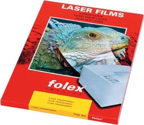 Folie projekční pro bar.laser.tisk. Folex BG-72 formát A3  bal.100ks