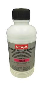Refill inkoust univerzální  250 ml. Magenta ActiveJet URB-250M