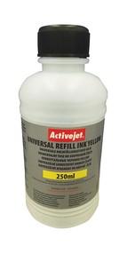 Refill inkoust univerzální  250 ml. Yellow ActiveJet URB-250Y