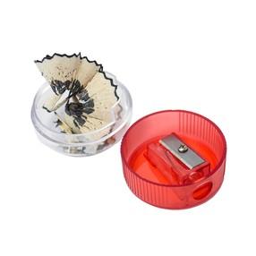 Ořezávátko plastové - 1 otvor, se zásobníkem