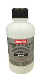 Refill inkoust univerzální  250 ml. Black ActiveJet URB-250BK