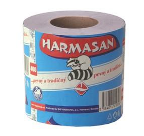 Papír toaletní 1vrstvý šedý, návin 50m, 400 útržků, Harmony Mýval