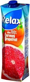 Juice RELAX 100% grep 1 litr (12ks)