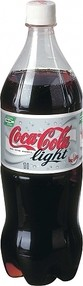 COCA COLA light 1l PET (12ks)