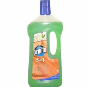 Pronto 5 in 1 zelený - mýdlový čistič na laminátové (plovoucí) podlahy 750 ml