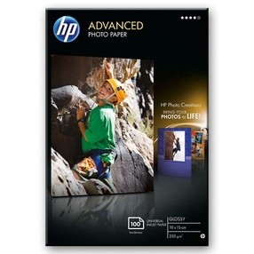 Fotopapír HP Advance Glossy Photo Paper 250g/m2 10x15cm, bal.100ks  Q8692A
