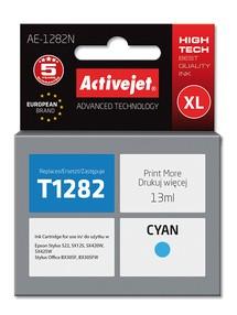 Cartridge EPSON T1282 cyan ( 13 ml) ActiveJet AE-1282N