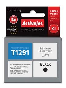 Cartridge EPSON T1291 černá ( 18 ml) ActiveJet AE-1291N