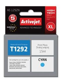 Cartridge EPSON T1292 cyan ( 15 ml) ActiveJet AE-1292N