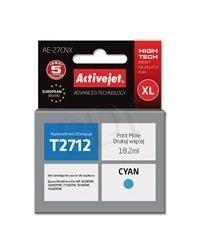 Cartridge EPSON T2712 č.27XL cyan (18,2 ml) ActiveJet AE-27CNX