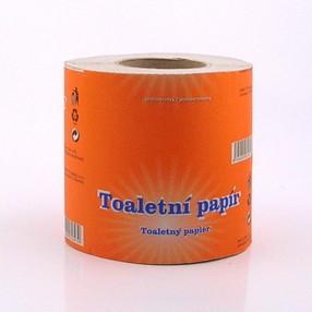 Papír toaletní 1vrstvý šedý, návin 34m, 400 útržků, Cliro 400