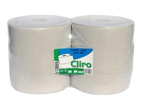 Papír toaletní Jumbo 1vrstvý šedý role 28cm bal.6 ks
