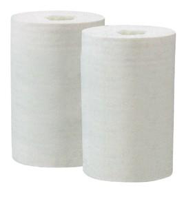 Ručník papírový v roli bílý průměr 13,5cm (MINI) délka 20,5cm, návin 75m