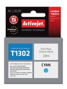 Cartridge EPSON T1302 cyan (18 ml) ActiveJet AE-1302N