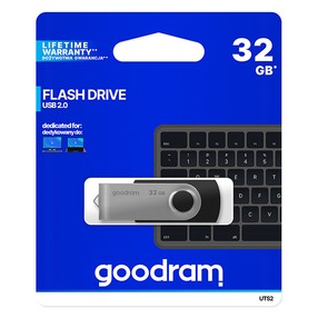 USB flash disk  32 GB,USB 2.0 Goodram Twister černý
