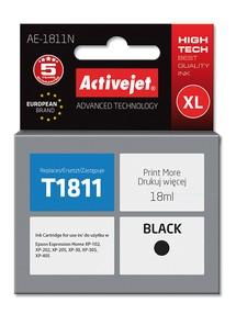 Cartridge EPSON T1811 č.18XL black (18 ml) ActiveJet AE-1811N