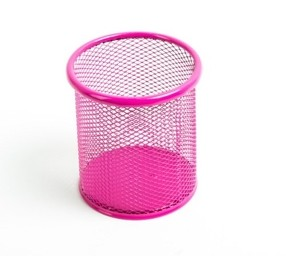 Kov.kalíšek velký růžový neon