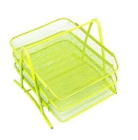 Kov.trojbox světle zelený neon