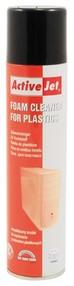 Čisticí pěna na plasty, sprej 400ml, ActiveJet, AOC-100