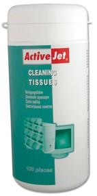 Ubrousky čistící univerzální v dóze (100ks), ActiveJet, AOC-301