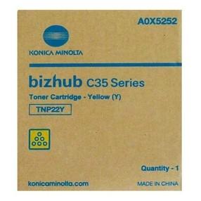 Toner Konica Minolta pro Bizhub C35/P, žlutý, TNP-22Y (6000 str.) orig
