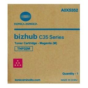 Toner Konica Minolta pro Bizhub C35/P, červený, TNP-22M (6000 str.) orig